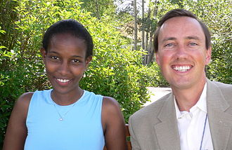 Ayaan Hirsi Ali - Ayaan with businessman Steve Jurvetson