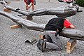 Bürkliplatz - Demontage 'Maman' 2011-07-28 20-42-28.JPG