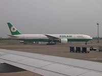 B-16713 - B77W - EVA Air