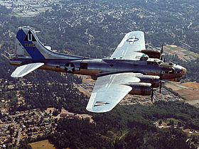 Un B-17 en vol