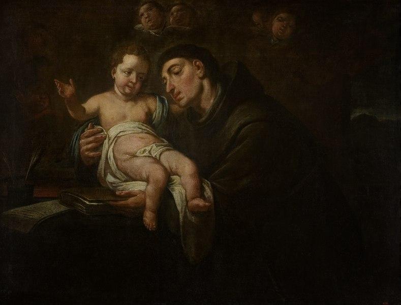BMVB - Antoni Viladomat Manalt - Visió de Sant Antoni de Pàdua - 3832