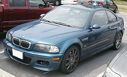 M3 der Baureihe E46 als Coupé (US-Version)