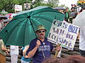 BP Oil Flood Protest NOLA Oils Not Well.JPG