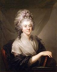 Portrait of Franciszka Rzewuska née Cetner.