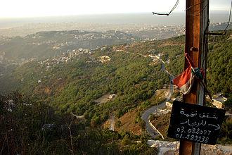 Matn District - Metn hills overlooking Beirut