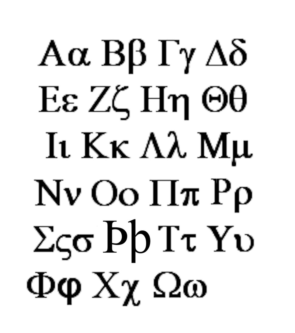 Bactrian alphabet