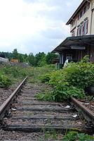 Bahnhof Althengstett Bahngleis.JPG