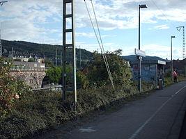 Bahnhof Hagen-Wehringhausen Bahnsteig
