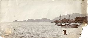 Dili - Dili Bay in the 1930s