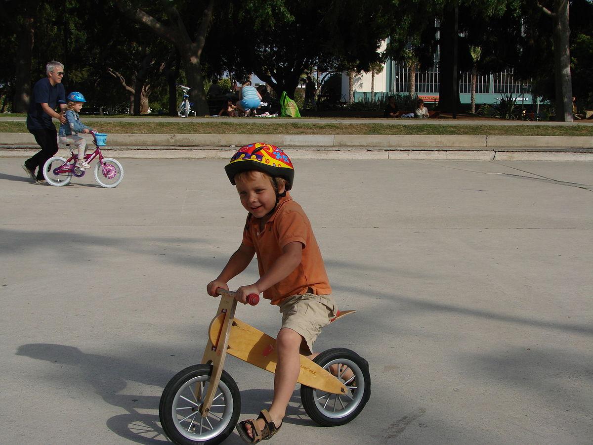 Bicicleta de entrenamiento sin pedales - Wikipedia, la ...