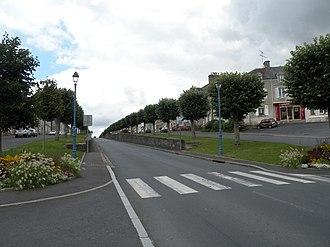 Balleroy - A street in Balleroy