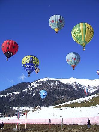 Château-d'Œx - Balloon festival