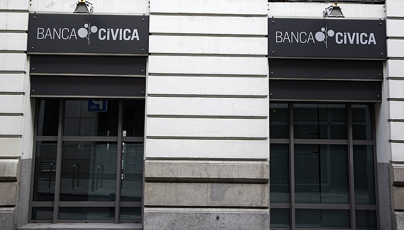 File banca civica wikimedia commons for Oficinas banca march madrid