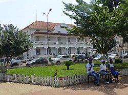Piazza Indipendenza, centro di São Tomé