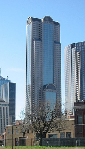 Comerica - Comerica Bank Tower in Downtown Dallas, Texas