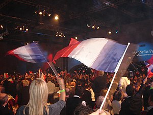 Marine Le Pen - Supporters of Marine Le Pen in 2011