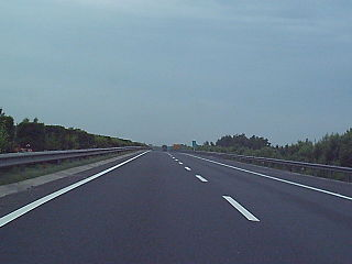 Baojin Expressway road in Tianjin, China