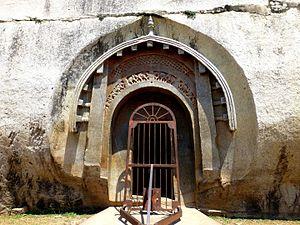 Barabar Caves - Entrance to the Lomas Rishi Cave