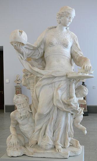 Giovanni Baratta - Giovanni Baratta: Allegory of Lombardy (Bode-Museum, Berlin)