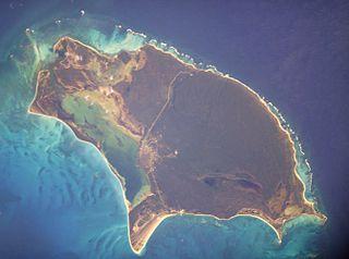 Barbuda island in Antigua and Barbuda