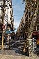 Barcelona - La Rambla dels Caputxins - View NE down Carrer de Ferran II.jpg