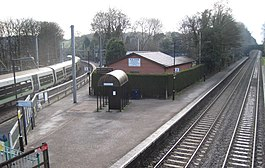 Barnt Green railway station, Worcestershire, geograph-3963907-by-Nigel-Thompson.jpg