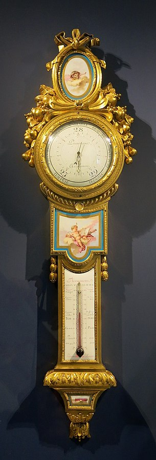 Baromètre-thermomètre