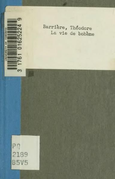 File:Barrière - Murger - La Vie de bohème, 1849.djvu