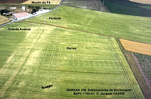 Barzan, Charente-Maritime - Aerial view of the Fâ site