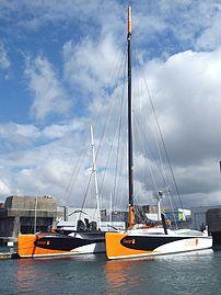 Maxi Catamaran Orange