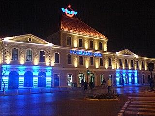 Basmane railway station railway station in İzmir