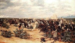 First and Second Battles of El Teb - Second battle of El Teb (Godfrey Douglas Giles)