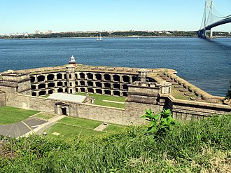 National Register of Historic Places listings in Staten Island - Image: Battery Weed jeh