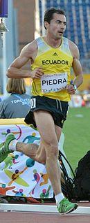 Bayron Piedra Ecuadorian runner