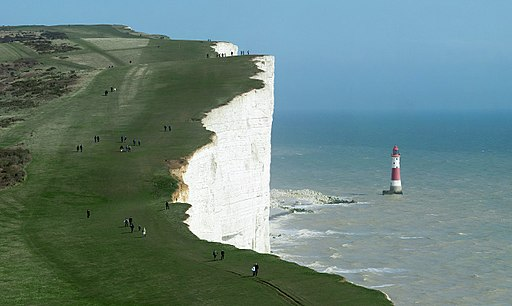 Beachy Head and Lighthouse, East Sussex, England - April 2010 - DWiW