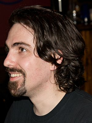 Bear McCreary at a Signing Event at House of B...