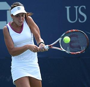 Beatrice Capra - Beatrice Capra in action during the 2009 US Open.