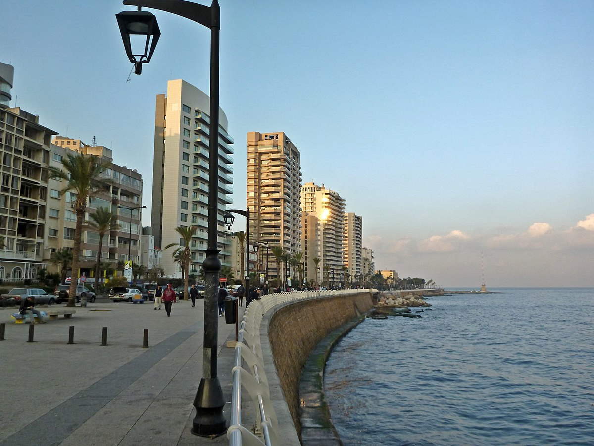 corniche beirut wikipedia. Black Bedroom Furniture Sets. Home Design Ideas