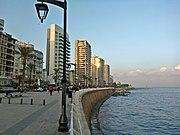 Beirut Corniche, Nord