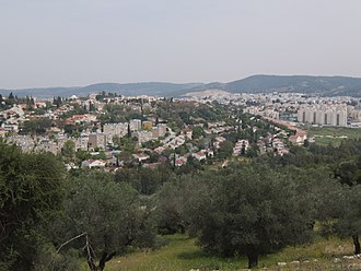 Beit Shemesh - Sprawling urbanization in Beit Shemesh