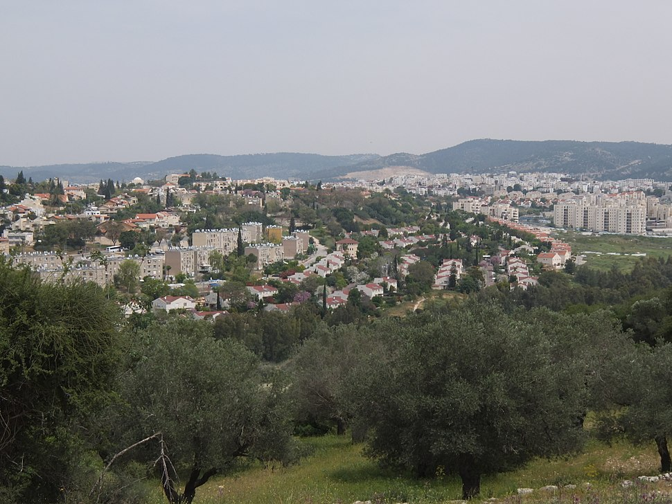 Beit Shemesh from its southern quarter