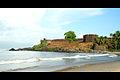 Bekal Fort, Kasaragod south shore of fort by Joseph Lazer.jpg