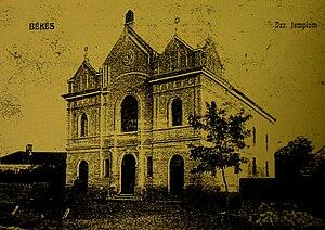 Békés - Békés Synagogue pre-1944