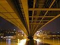 Belgrade - Branko's Bridge construction underneath.jpg