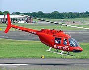 Bell 206B Jet Ranger III at Filton Airfield 2006-06-10