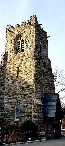Bell Tower, Church of the Good Shepherd (Rosemont, Pennsylvania).jpg