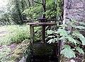 Bello Mill sluice gate, Lugar, Scotland.jpg