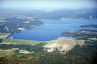Belton Lake - Image: Belton lake