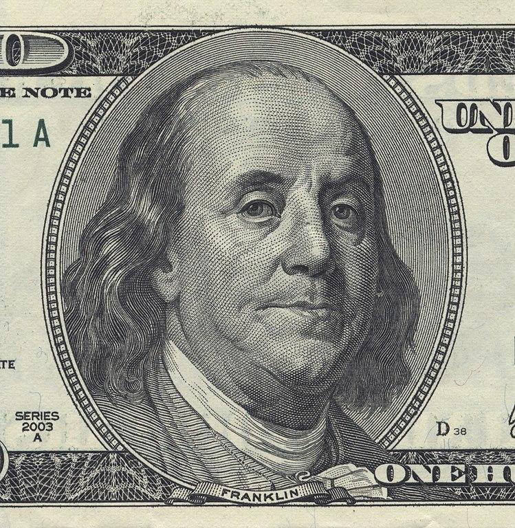 Datei Benjamin Franklin U S 100 Bill Jpg Wikipedia