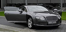 Bentley Continental GT (II) – Frontansicht geöffnet, 30. August 2011, Düsseldorf.jpg
